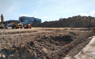 Start preparations new warehouse MOL Logistics Czech Republic
