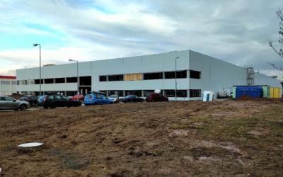 V Plzni stoupá nový sklad MOL Logistics