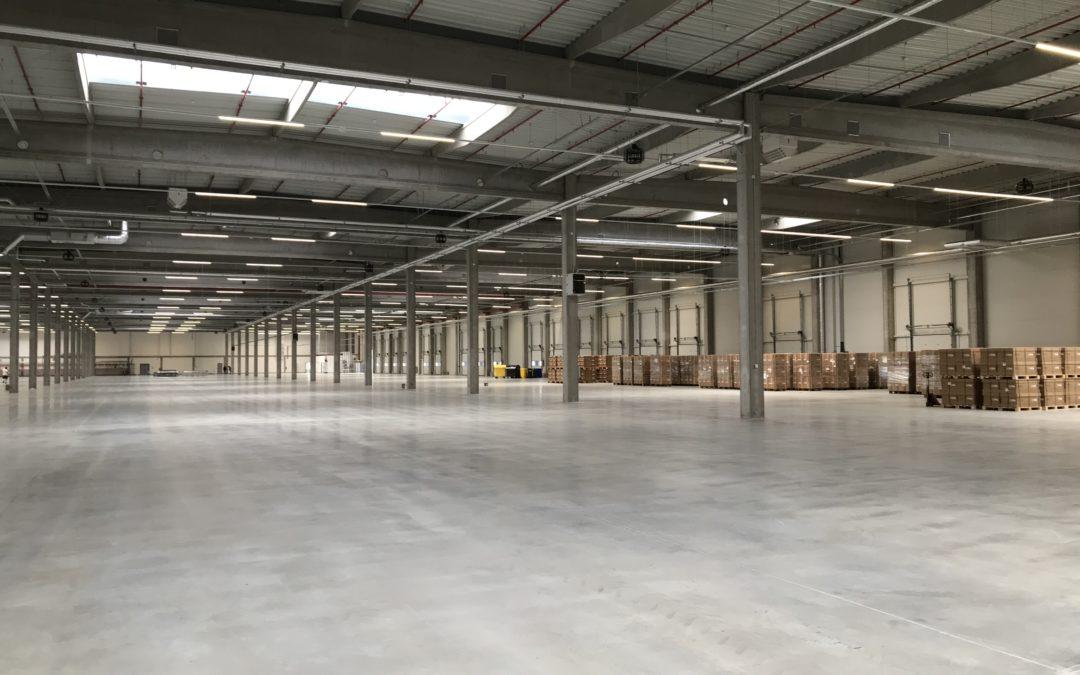 Opening of new warehouse in Pilsen