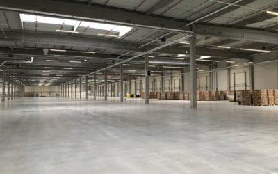 Otevření nového skladu v Pilzenu